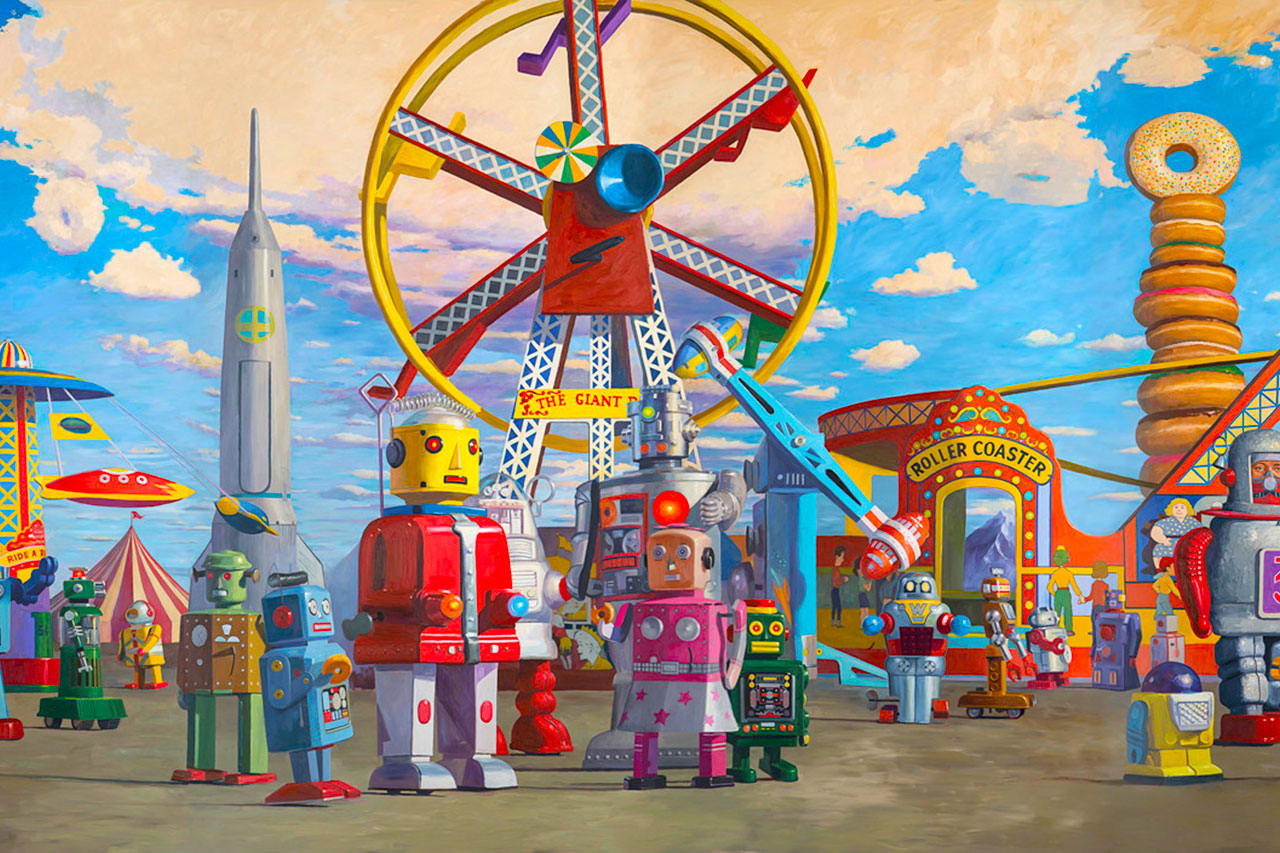 Eric Joyner - Fairground - Robots and Donuts