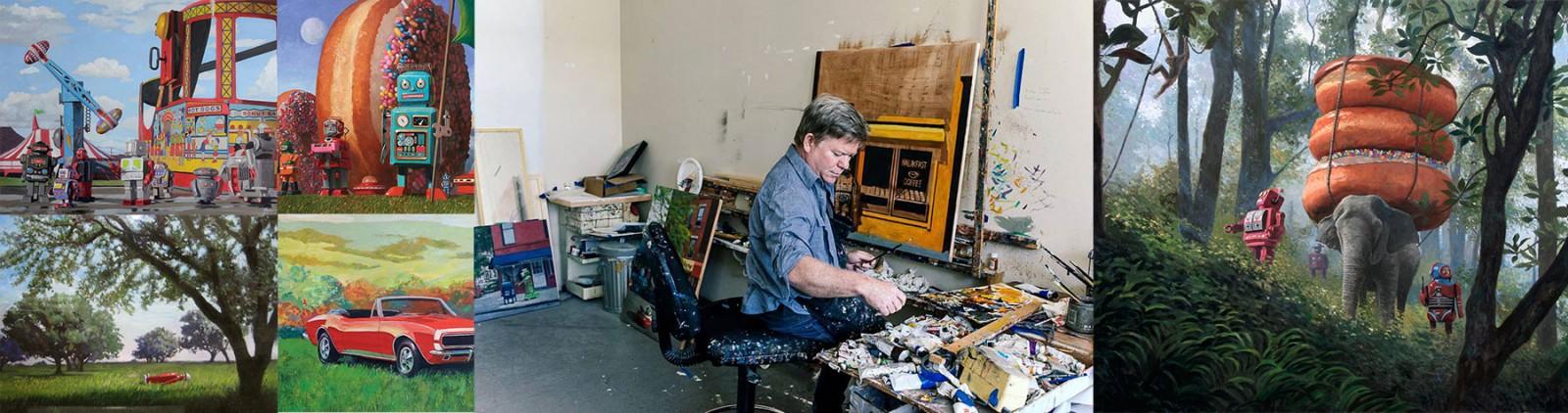 Eric Joyner in Studio