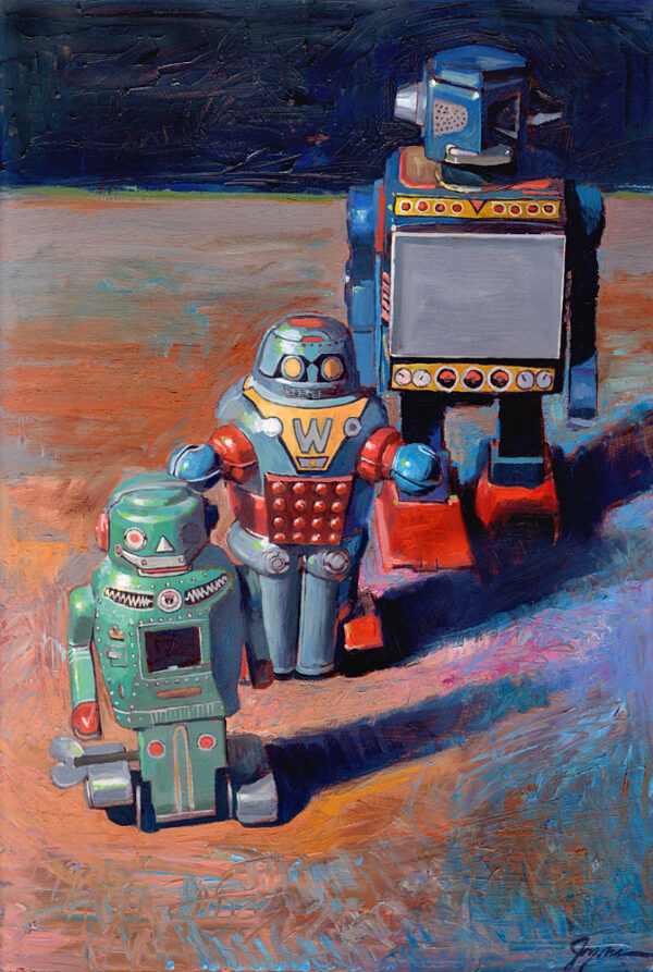 3 Robots
