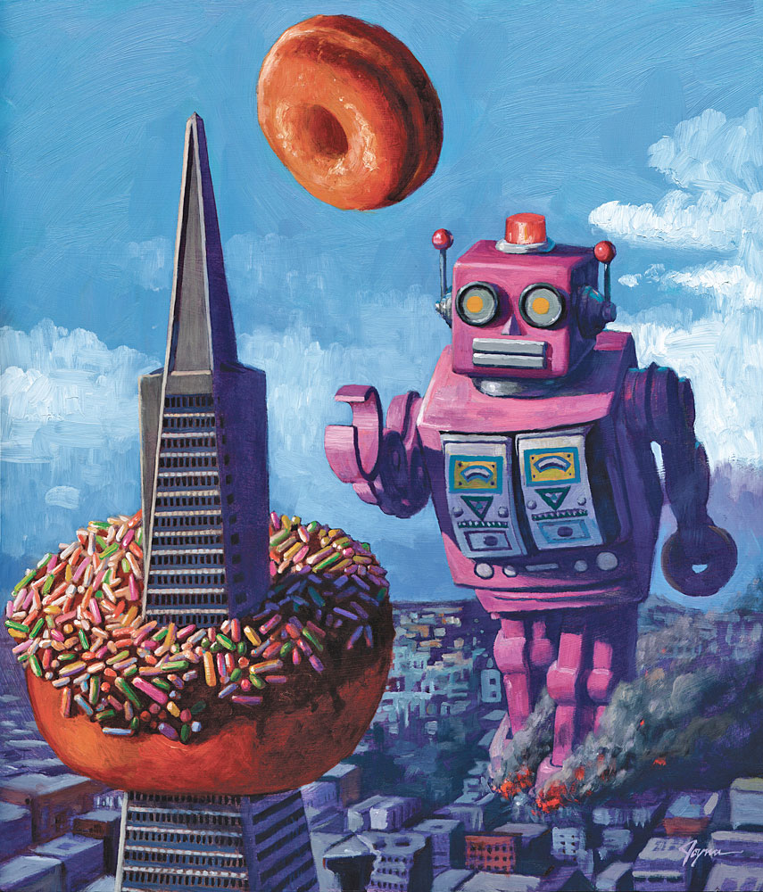 Robot R&R - Eric Joyner Robots and Donuts Artist