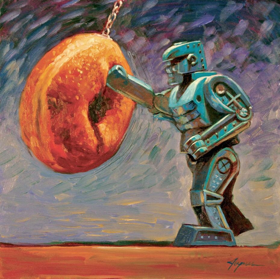 Endless Training Study Eric Joyner Robots And Donuts