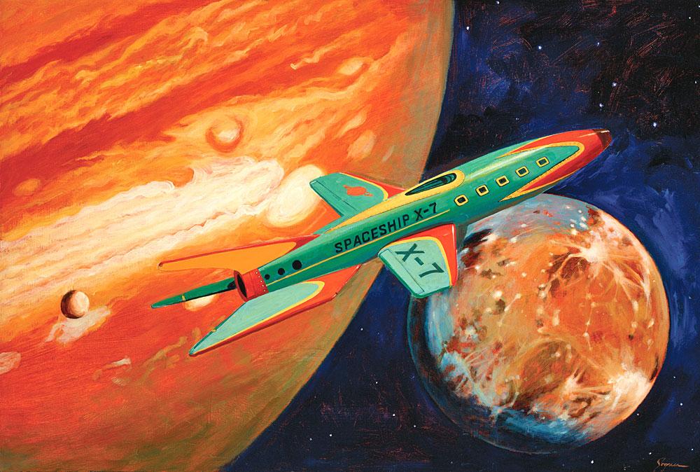 Spaceship X-7