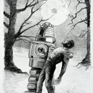 Wolf Man 2 (Sketch)
