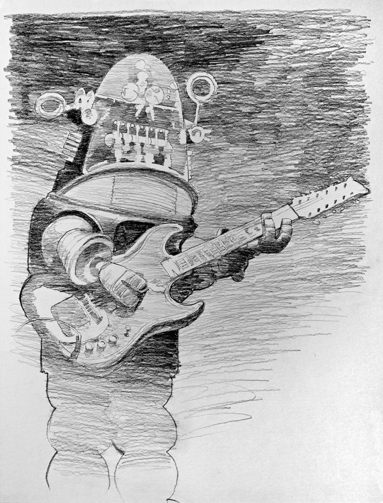 Blue Robert (Sketch)