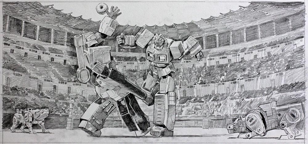 First Strike (Sketch)