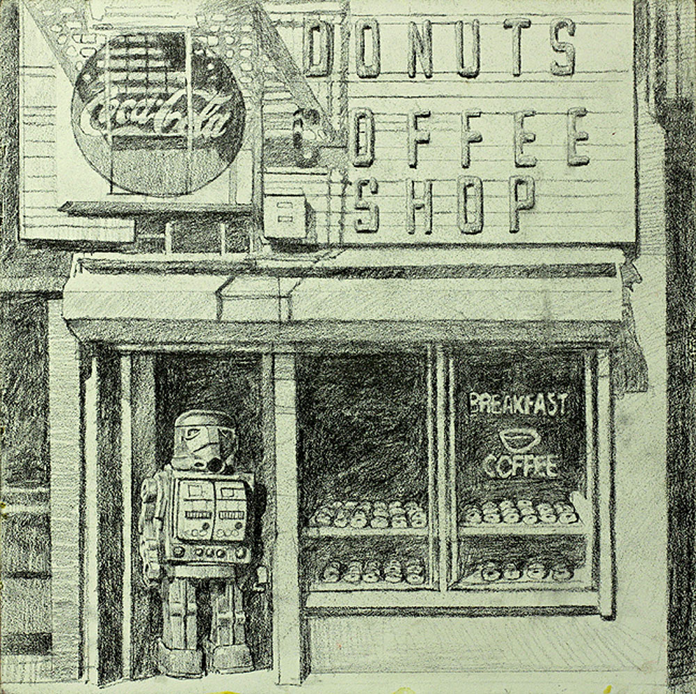 Donut Trooper (Sketch)