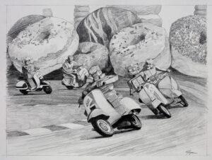 Death Race 2060 (Sketch)