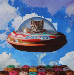 This Is Not a Cat in a Spaceship