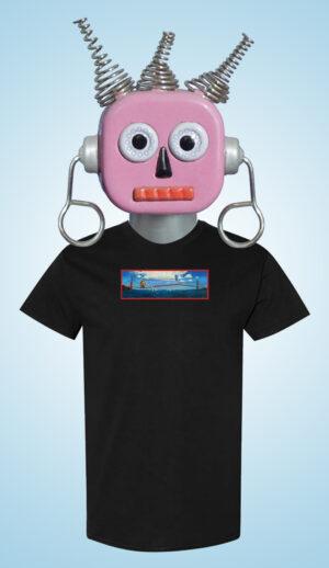Golden Gaters Eric Joyner Art T-shirt Black
