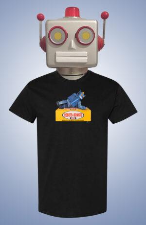 Robots & Donuts Eric Joyner Art T-Shirt